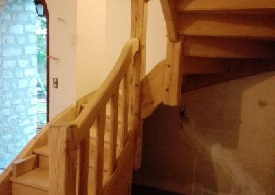 aerogommage escalier
