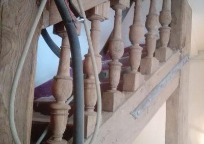 decapage escalier aerogomma ge sablage paris 75