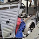 aerogommage de voiture ancienne